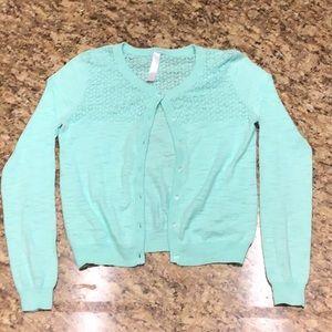 Girls Long Sleeve Cardigan. $10